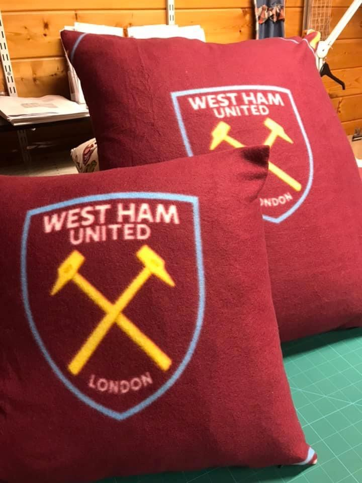 A very personal gift for a Hammers fan.