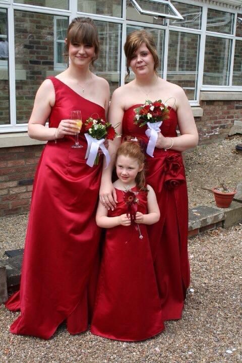 Handmade Bridesmaid dresses