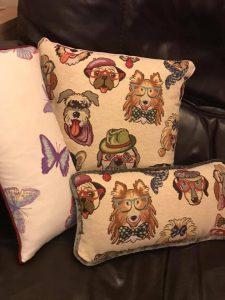 More Handmade Cushions