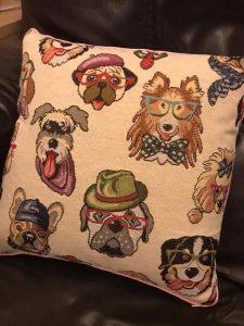 Dogs Handmade Cushions